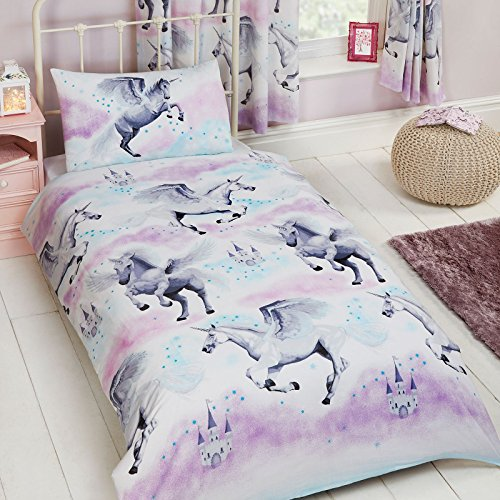 Stardust Unicorn Single Duvet Set