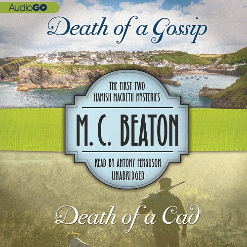 Death of a Gossip & Death of a Cad audiobook cover art