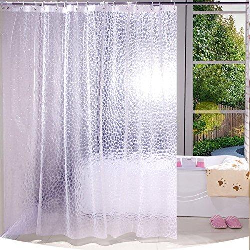 Tenda da doccia antifungo impermeabile per bagno, 3D...