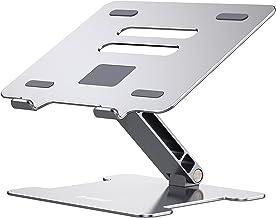 Orico - Soporte de aluminio ergonómico para portátil (11-15,6 pulgadas), compatible con MacBook Pro/Air, iPad, Dell (plate...
