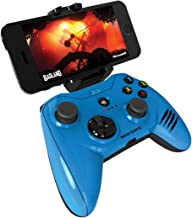 Apple Certified Mad Catz Micro C.T.R.L.i Mobile Gamepad and Game Controller Mfi Made for Apple TV, iPhone, and iPad - Blue