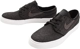 Nike SB Zoom Stefan Janoski Canvas Deconstructed Men's Skate Shoes Black/Anthracite/White (8)