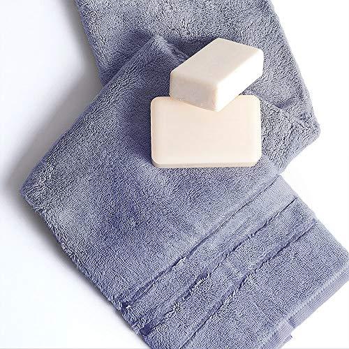 Luxury hotel /& spa serviettes de bain 100/% Coton XL 30x56 cm Set de 2 blanc Nouveau