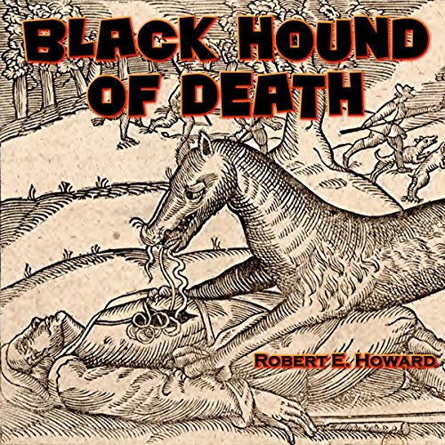 Black Hound of Death audiobook cover art