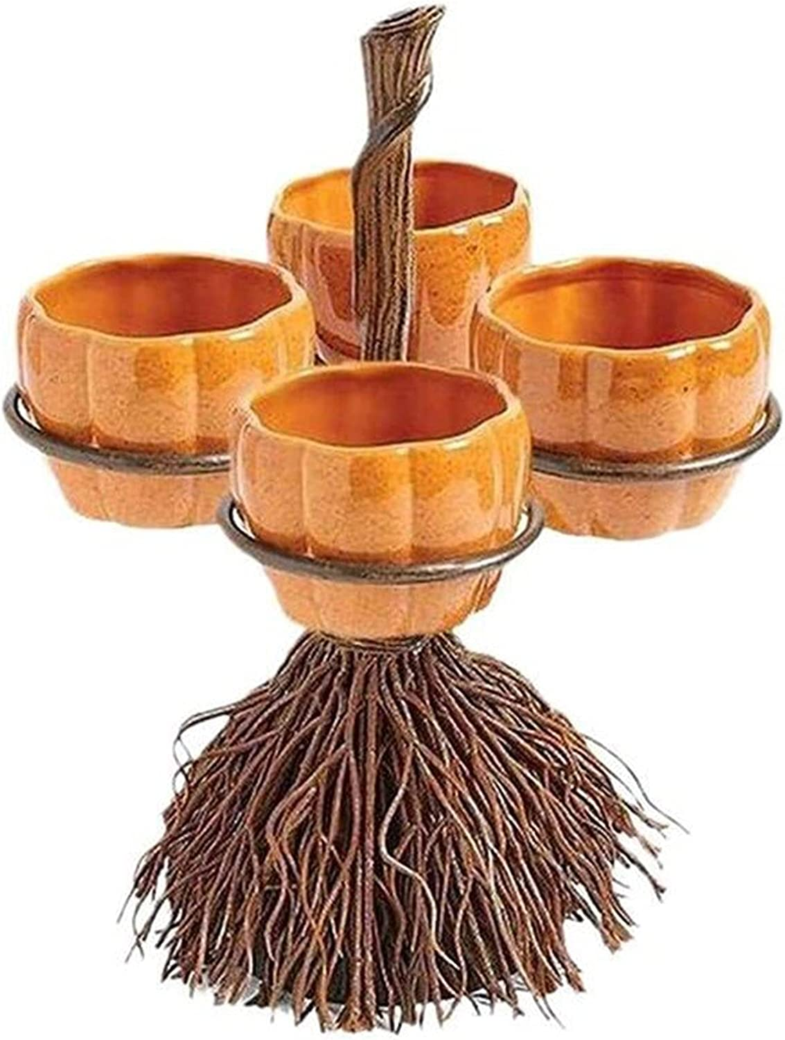 TIANLILI Challenge the lowest price of Choice Japan Creative Pumpkin Snack Bowl Party Stand Theme Halloween