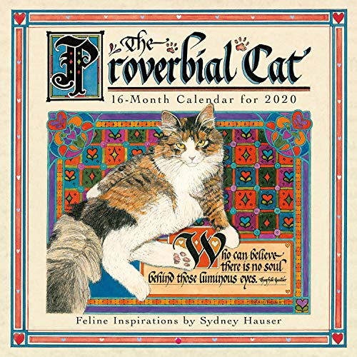 The Proverbial Cat 2020 Calendar: Feline Inspirations