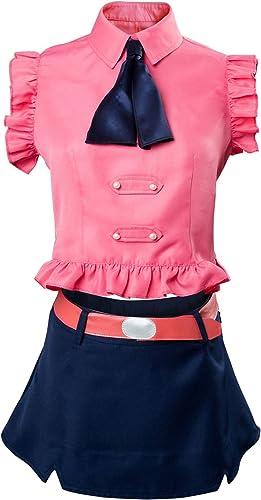 compras de moda online rojoJade The Seven Deadly Sins Sins Sins Elizabeth Liones Boar Sombrero Traje de Cosplay Damas XXXL  alta calidad
