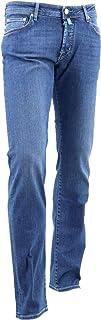 [JACOB COHEN ヤコブコーエン] メンズ ストレッチ 5ポケット タイトフィット ストレートデニム J622 COMF 918-W2 10274 75(ブルー)