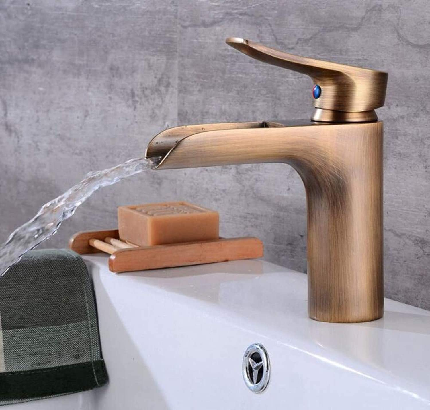 Mixer Basin Taps Basin Sink Mixer Tap Sink Brass Hot and Cold Water Bathroom Faucet Basin Taps
