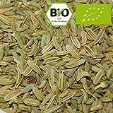 Bio-Fenchel Samen, ganz, 100g (von Pfeffercorner) als Tee oder Gewürz