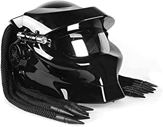 Retro Black Classic Motorcycle Helmet Carbon Fiber Motorcycle Helmet Full Face Helmets