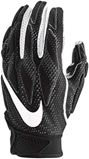Nike Men`s Super Bad 4.5 Football Gloves, White/Black
