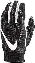 Nike Men's Super Bad 4.5 Football Gloves Black/White