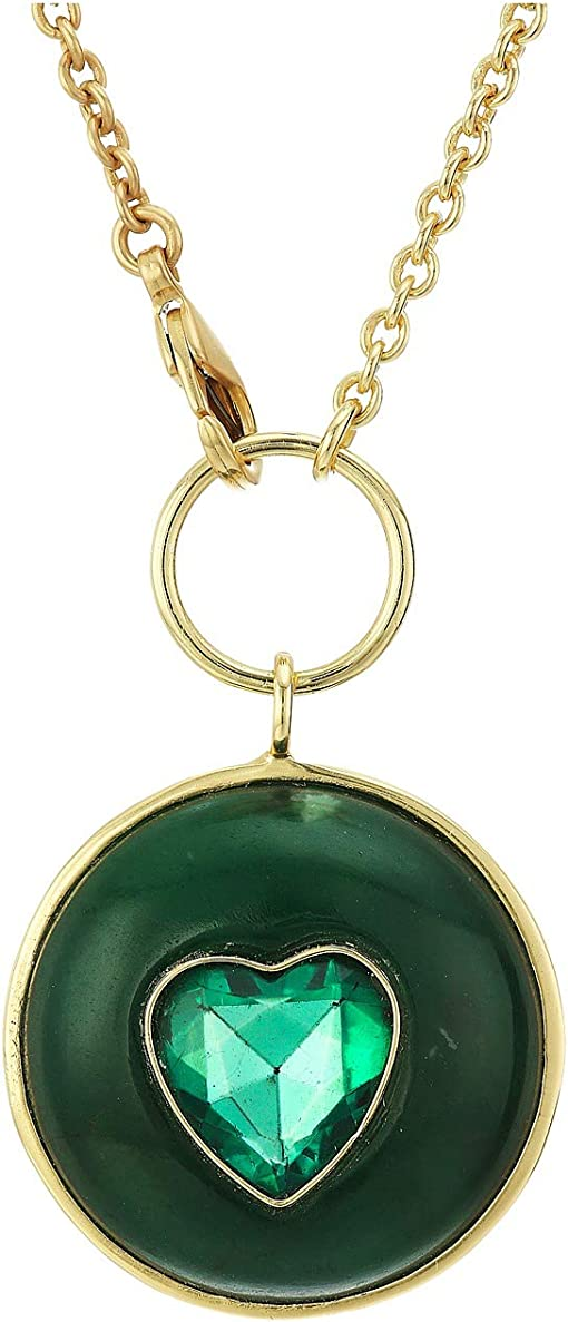 12K Soft Polish Gold/Green Aventurine/Emerald