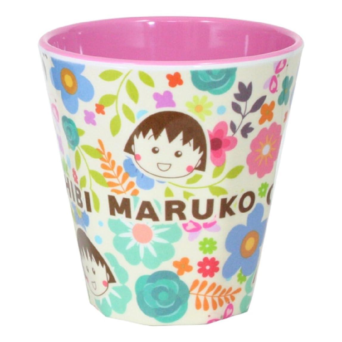 効能ある宝マウンド藤本電業 ちびまる子ちゃん メラミンカップ お花畑 MC-N08