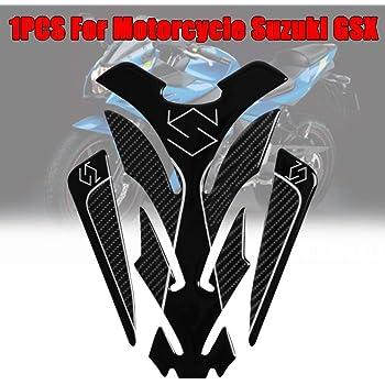 Protection de Reservoir Moto Autocollant en Gel compatible pour S.uzuki GSX-S Tankpad Sticker