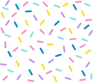 Easu Sprinkles Fabric Wall Decals Mini Bar Stickers Confetti Wall Decal Removable Peel and Stick Decals Kids Room Decor…