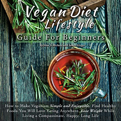 Vegan Diet Lifestyle Guide for Beginners cover art