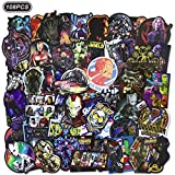 Realcome 108 Pcs Marvel Stickers Superhero Stickers for Avengers