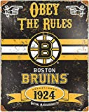 NOT Boston Bruins Blechschild Retro Blech Metall Schilder