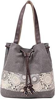 Fulision Women's Fashion Printing Shoulder Bag Retro Casual Hand Bags
