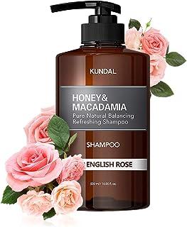 KUNDAL Honey&Macadamia Hydro-Intensive Protein Premium Nature Shampoo (WHITE MUSK) 500ml