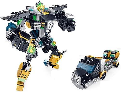 DIY Puzzle Deformation Roboter - Baustein Ziegel Spielzeug - Kinder Puzzle Bausteine  pielzeug Kinder Jungen Geschenke