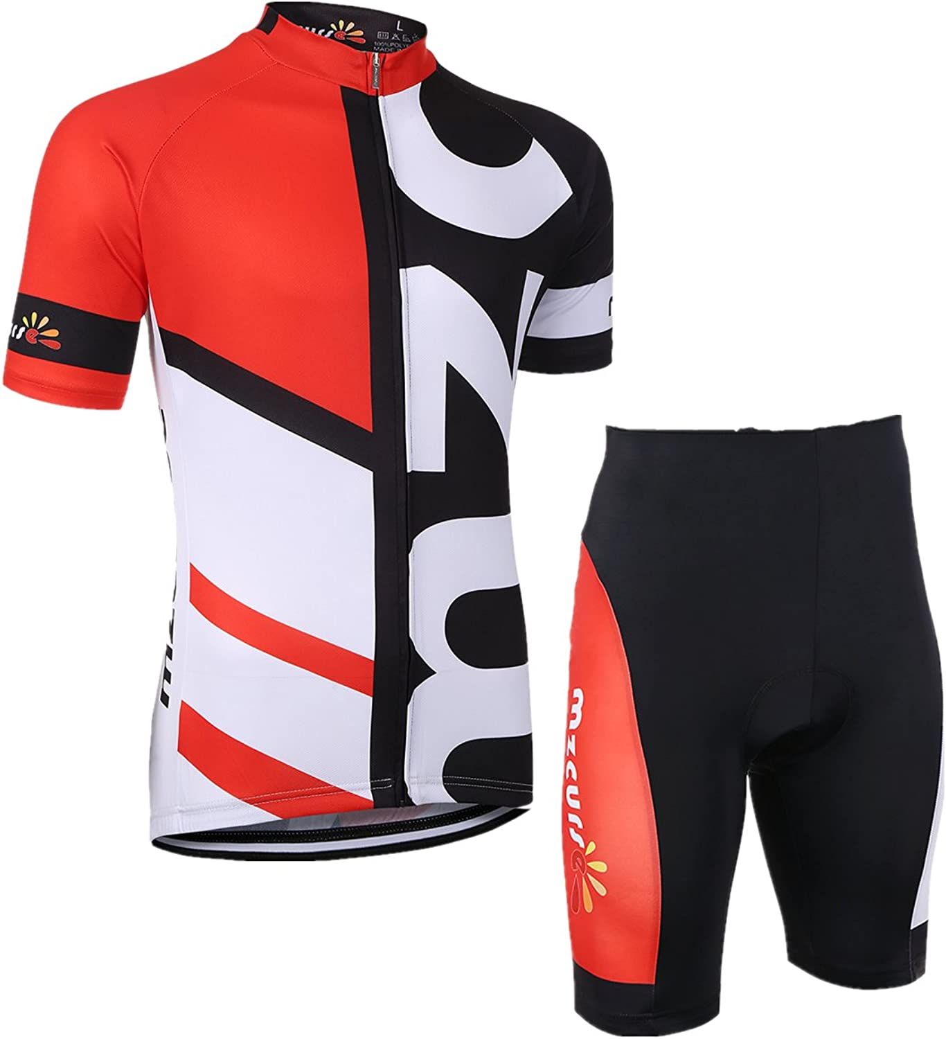 more photos a9ea6 b431b Mzcurse Men's Outdoor Pro Team Short Sleeve Cycling Jersey ...