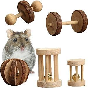Pevor 5 Hamster Chew Toys