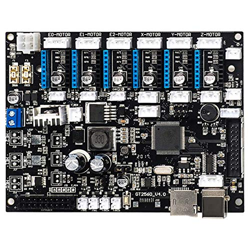 ZSHENG GT2560 V4.0 Motherboard New Version Used For A10, A10M, A20 And A20M 3D Printers (Size : For A10M)