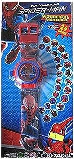 Spiderman Images Projector Watch Kids Digital Wrist Watch
