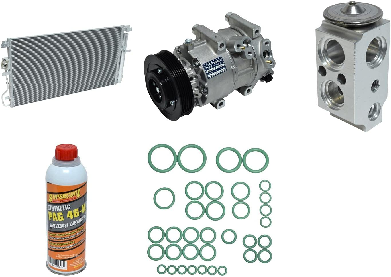 New A C Compressor Max 48% OFF and Cheap SALE Start for Component Kit Sportage