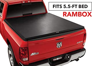 TruXedo TruXport Soft Roll Up Truck Bed Tonneau Cover | 284901 | fits 2019 Ram New Body Style 1500 w/RamBox 5'7