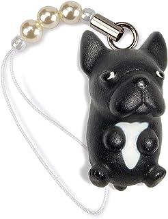 ペットラバーズ 犬種 Dog 92 French Bulldog フレンチブルドッグ ブリンドル ビーズ ストラップ DN-1503