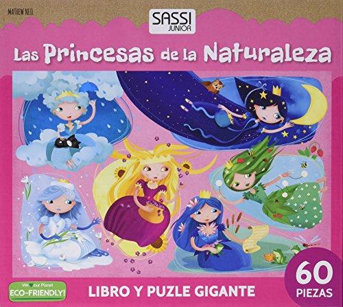 Manolito Books 9789461887467 Libro con Puzzle Las Princesas 27x23, Multicolor ( 9789461887467)