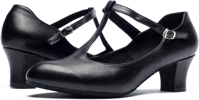 Joocare Womens Professional Latin Salsa Ballroom Modern Character Dance Shoes Ladies Party Wedding Pump Shoes