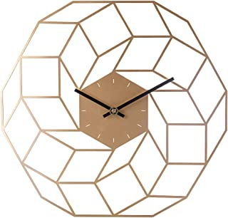 MAJOZ0 40cm Wanduhr Vintage, Metall Wanduhr Ohne Tickgeräusche Uhr Lautlos Dekorative für für Küche Wohnzimmer Schlafzimmer Büro
