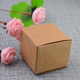 50 stks 13 maten Kraft Papier karton Doos voor Sieraden geschenk Snoep verpakking doos gift soap Pakket Pak papier Doos wi...