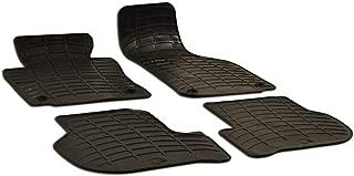Newparts Set 4 Black Rubber All Weather Floor Mats OE Fit for VW Golf GTI Jetta MK5 MK6