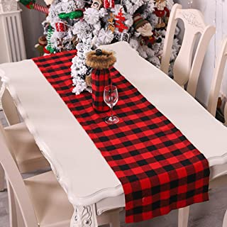 Best buffalo check christmas table runner Reviews