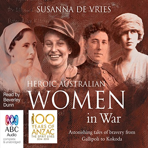 Heroic Australian Women in War audiobook cover art