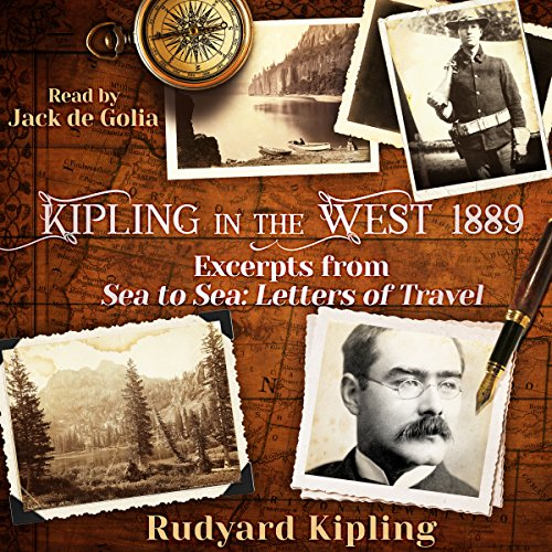 Kipling in the West 1889 audiobook cover art
