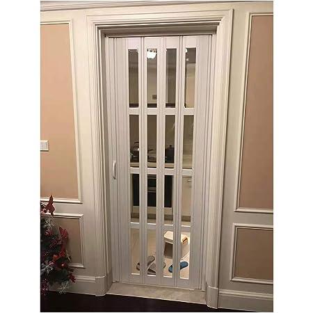Toilet Bi Fold Doors Plastic Folding Sliding Door For Toilet Bathroom 32 80 White Amazon Com
