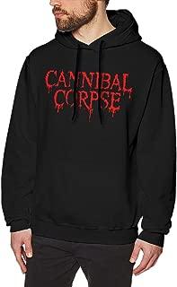 Art Carnivore Cannibal Mans Hoodie Sweatshirt Pullover Long Sleeve Cotton Black