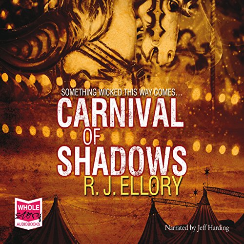 Carnival of Shadows audiobook cover art