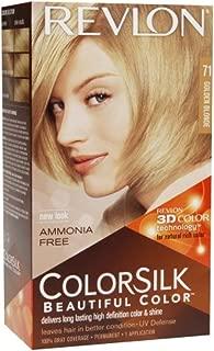 Revlon ColorSilk Hair Color, 71 Golden Blonde 1 ea (Pack of 3)