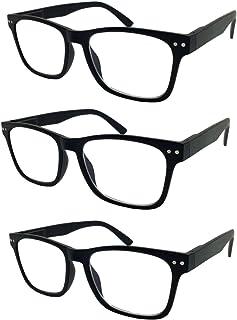2 Pack Bulk Multi Focus 3 Power Progressive Reading Glasses - No Line