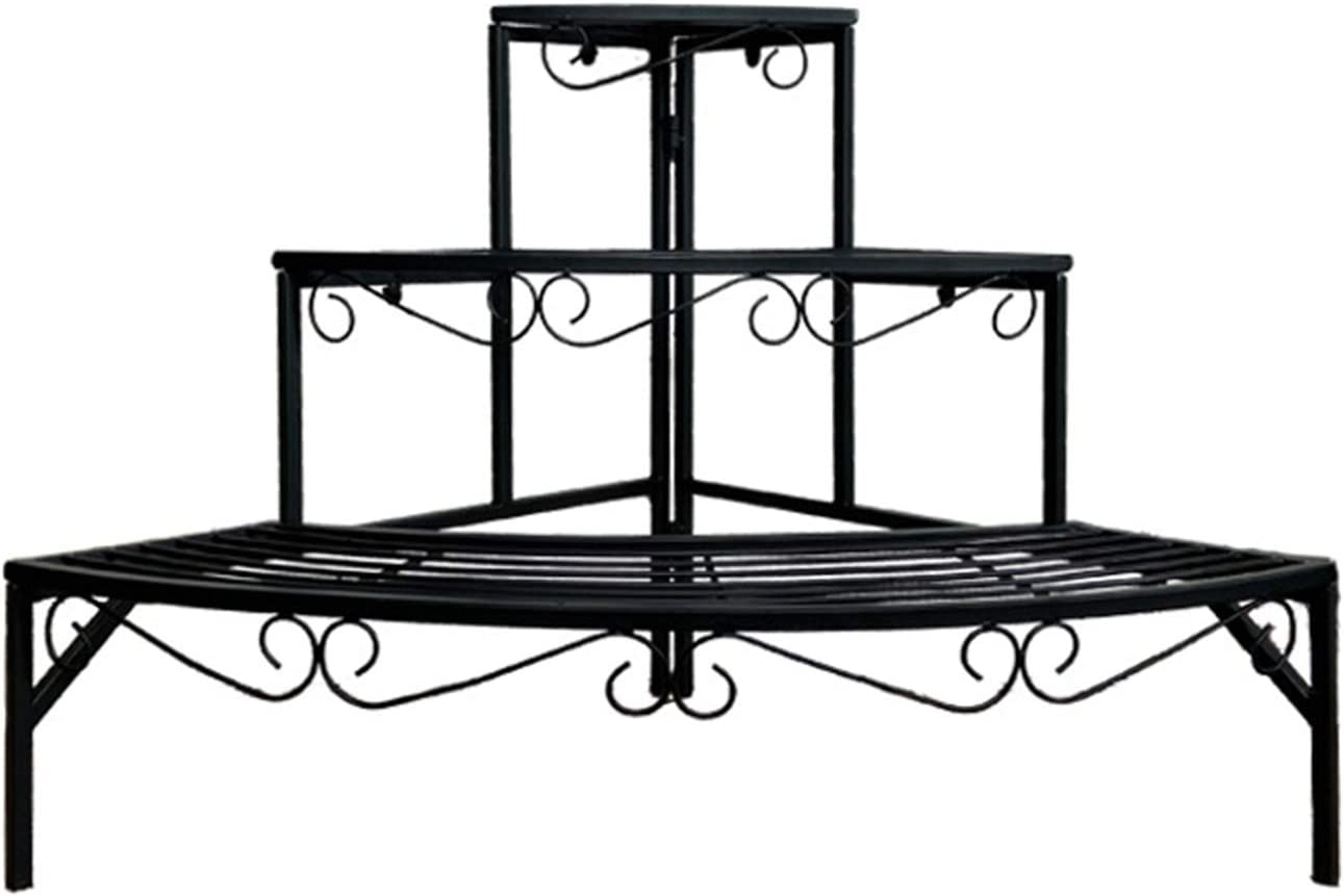 3 Tier Portland Mall Step Style Plant Holder Flower Display Sector Gorgeous Stand