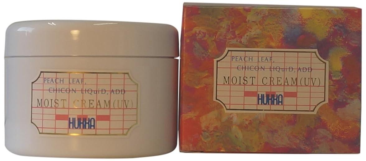 縁快いシンクフッカーコスメチック ももの葉?紫根エキス配合 モイストクリーム(UV) 120g AMZ-0027
