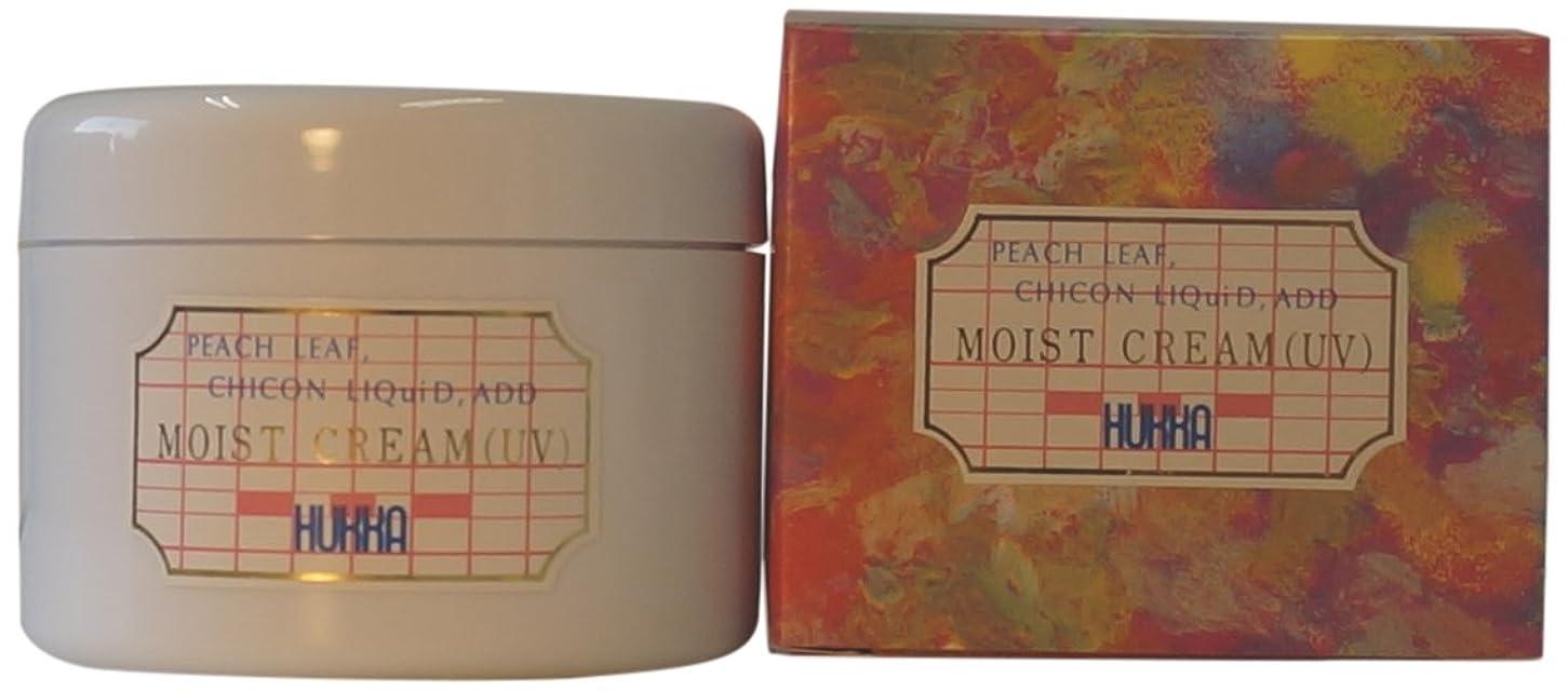 ツーリストモナリザファックスフッカーコスメチック ももの葉?紫根エキス配合 モイストクリーム(UV) 120g AMZ-0027